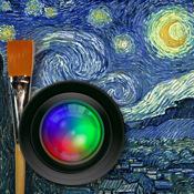 写真画像を絵画風に iPhone画像加工アプリ 【AutoPainter】