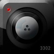 iPhoneカメラアプリ - 光学迷彩カメラアプリ